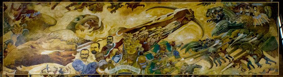 Mural Congreso Del Estado De Tabasco