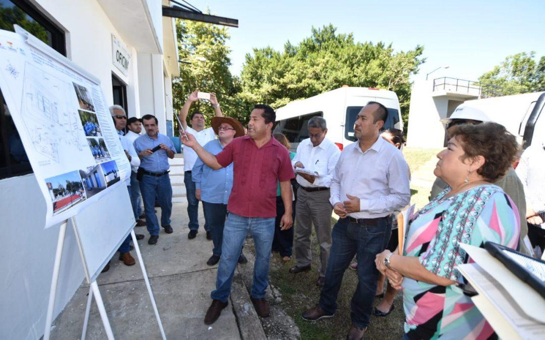 Continúa Inspectora de Hacienda Primera supervisión de obras en Tacotalpa y Centro