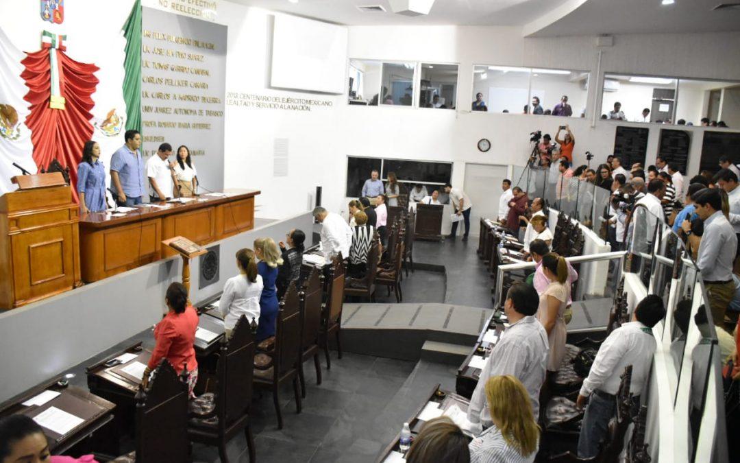 Proponen diputados reformas en materia penal y de seguridad pública, y crear Comisión Conmemorativa del Centenario de la Constitución local
