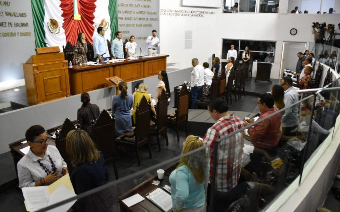Se pronuncian legisladores por mejorar las condiciones de desarrollo de la población