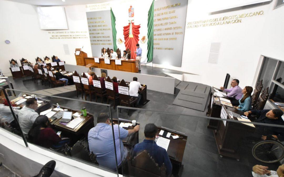 Se pronuncian integrantes de la LXIII Legislatura por sentar bases sólidas para un mejor desarrollo