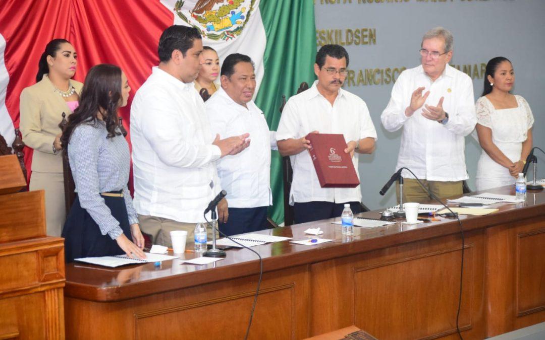 Recibe LXIII Legislatura Sexto y último Informe de Gobierno del Poder Ejecutivo