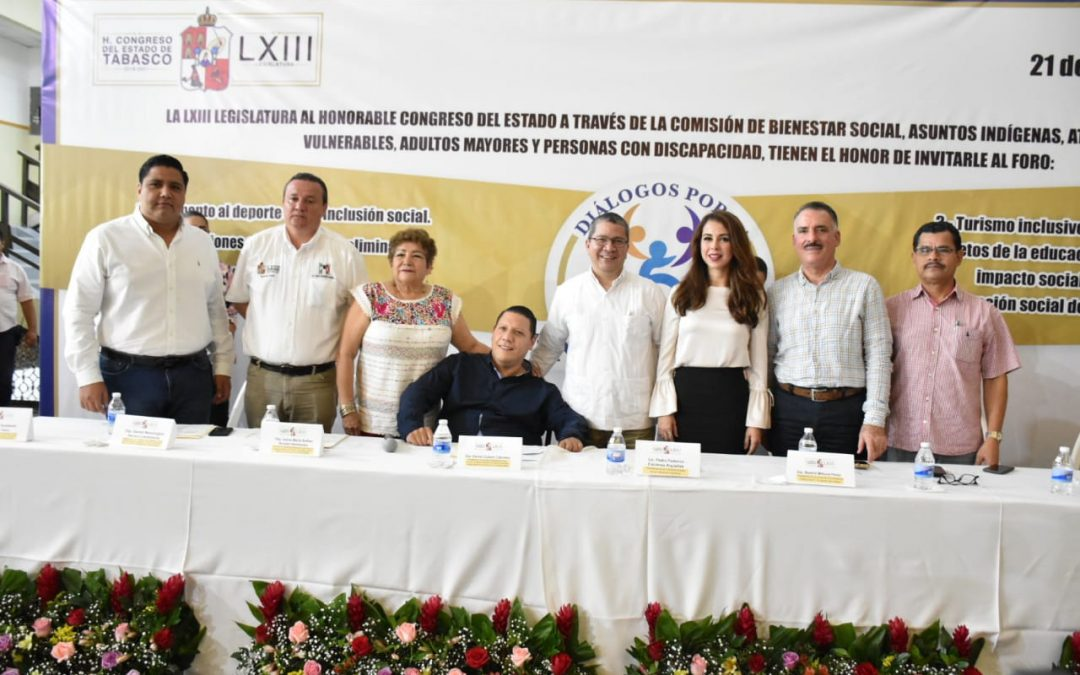 """Realiza Congreso el Foro """"Diálogos por la Inclusión"""""""