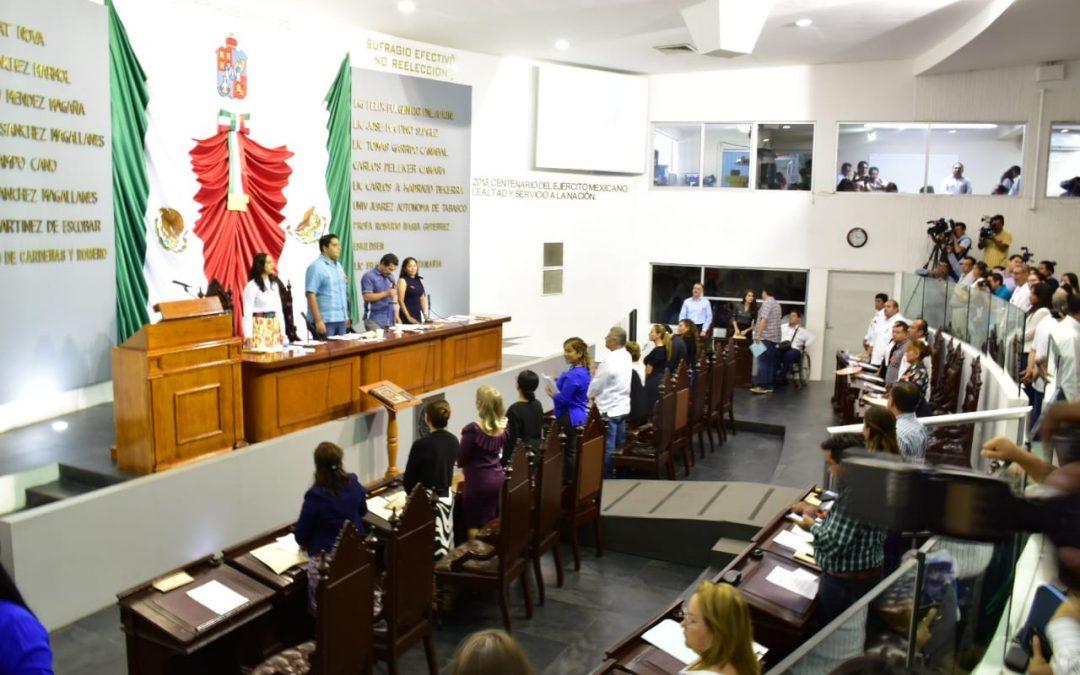 Da entrada Congreso a propuestas en materia de planeación, ecológica, laboral y económica