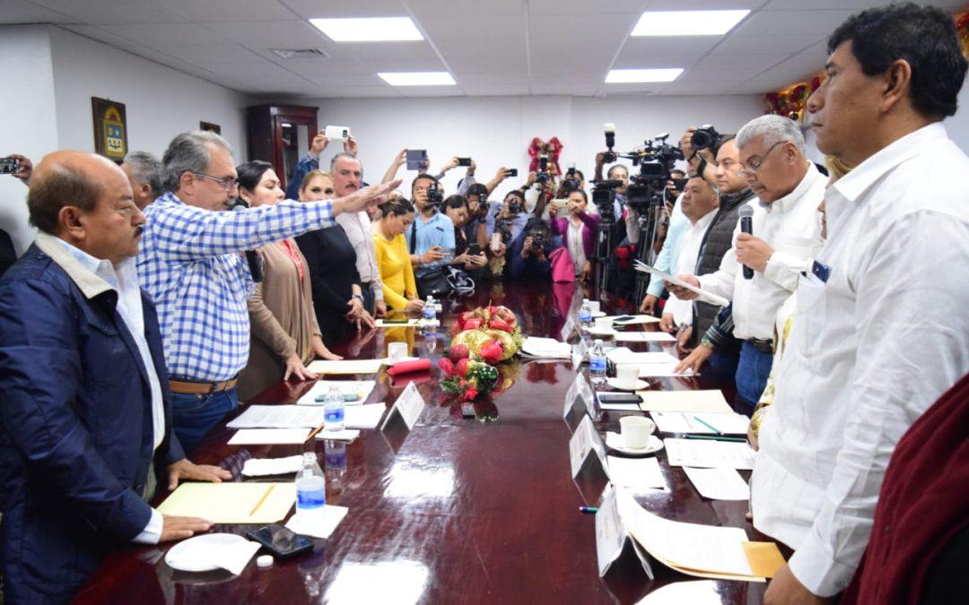 Reconoce titular de SOTOP la pluralidad de la LXIII Legislatura para avanzar por el bien del estado