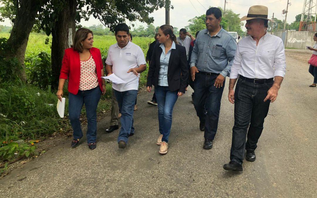 Supervisa Inspectora de Hacienda Tercera inversión de más de 26 mdp en el municipio de Centro