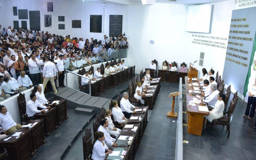 Inicia la LXIII Legislatura Ejercicio Constitucional