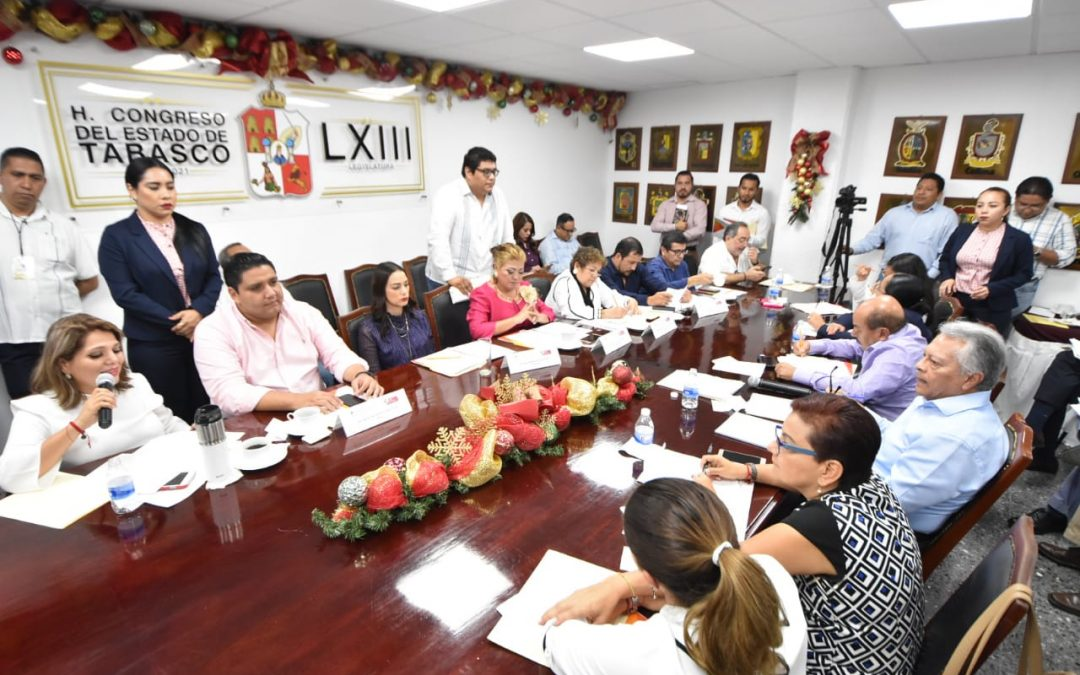 Conoce Comisión de Fomento Económico acciones en materia de desarrollo económico