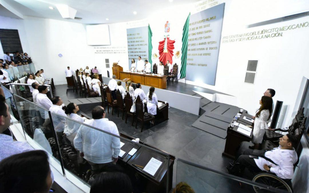 Integran Junta de Coordinación Política y Fracciones Parlamentarias