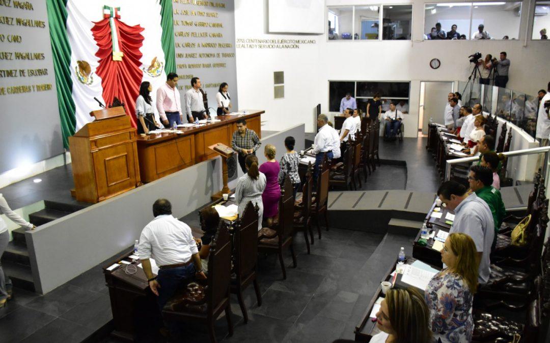 Legisladores plantean propuestas relacionadas conseguridad pública, ecología y orden administrativo