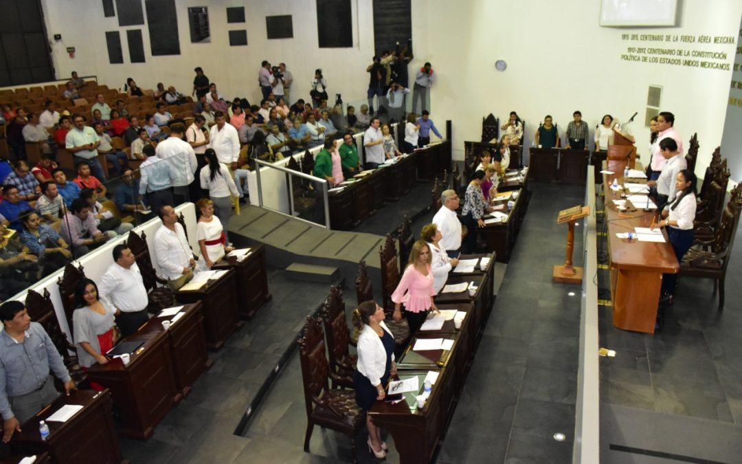 Presentan Agenda para primer año de la LXIII Legislatura