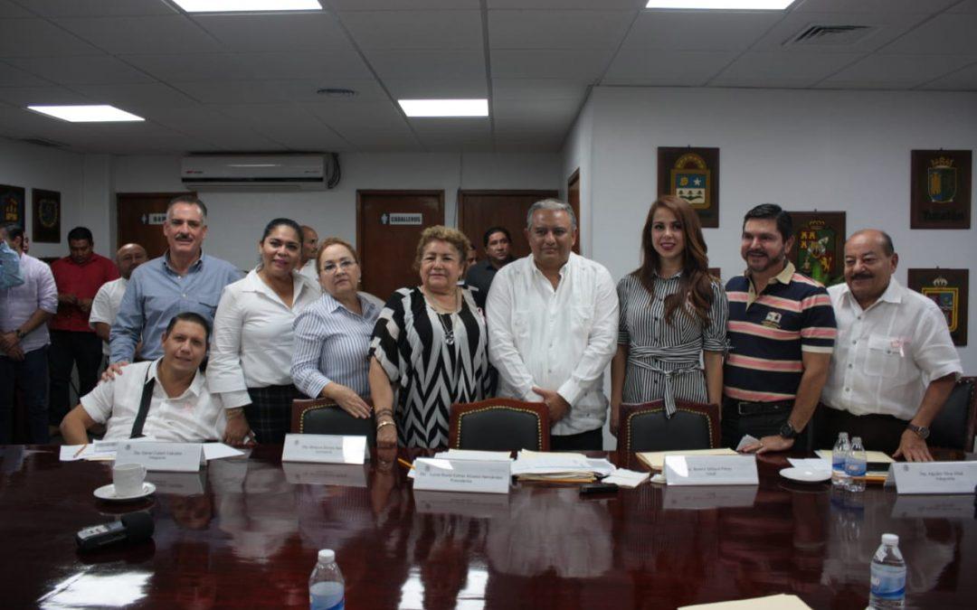 Se reúne Primera Inspectora de Haciendacon el Fiscal Superior del Estado