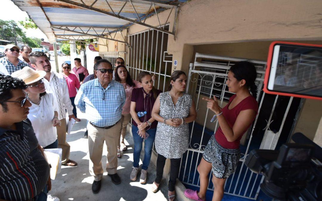 Inician integrantes de la Inspectora de Hacienda Tercerasupervisión física de obras