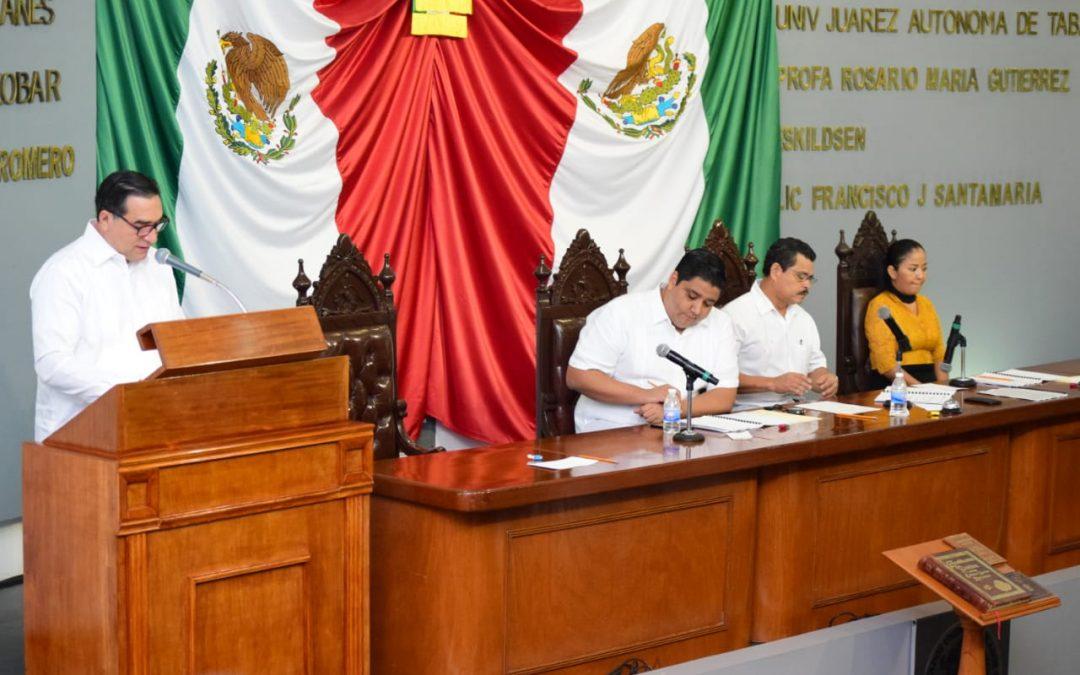 Explica Fiscal General acciones emprendidas para consolidar la procuración de justicia