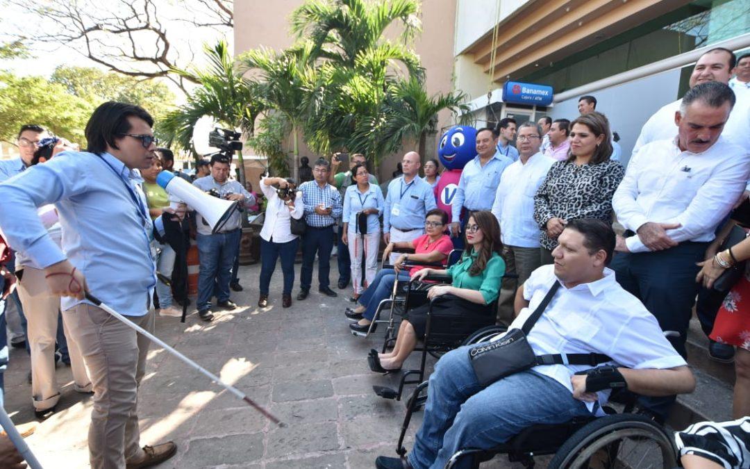 Participan diputados en taller de sensibilización sobre discapacidad