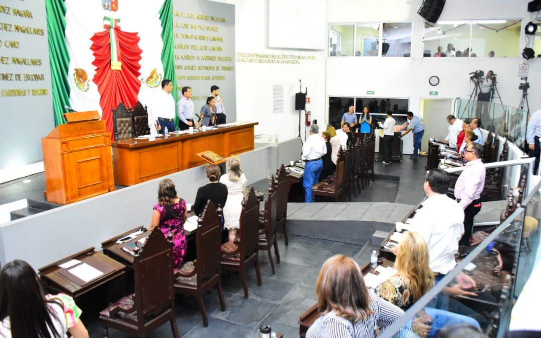 Fortalece Congreso local la operación  y organización interna del DIF Tabasco