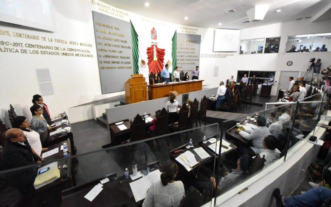 Aprueba Congreso cuentas públicas 2017 de los tres poderes, órganos autónomos y de once ayuntamientos