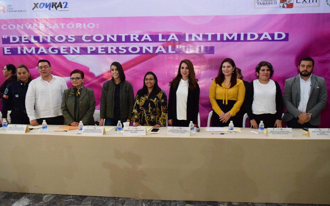 """Realizan diputados Conversatorio """"Delitos contra la Intimidad e Imagen Personal"""""""