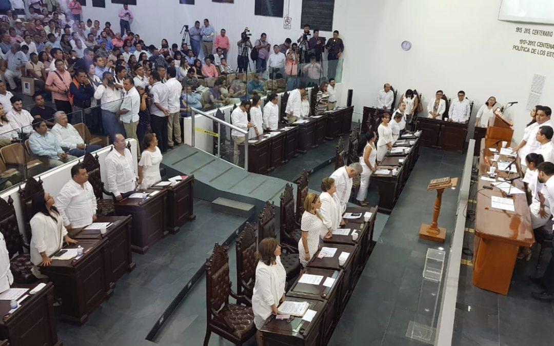 Elige Congreso local a Jaime Humberto Lastra Bastar como Fiscal General del Estado