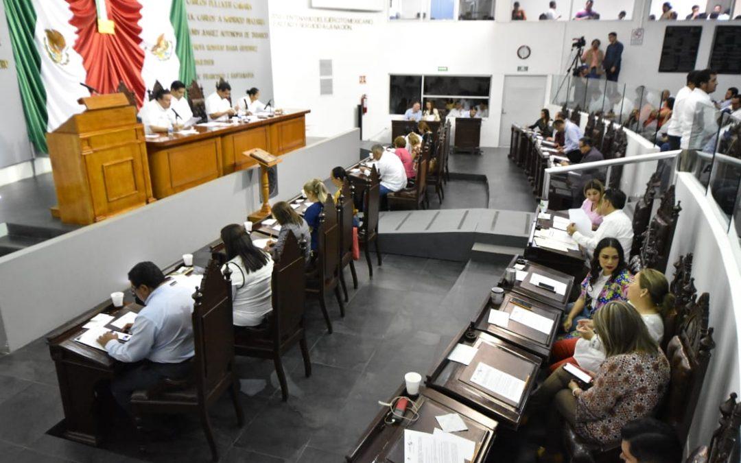 Recibe Congreso reformas en materia judicial,penal, ambiental, de transparencia y cultural