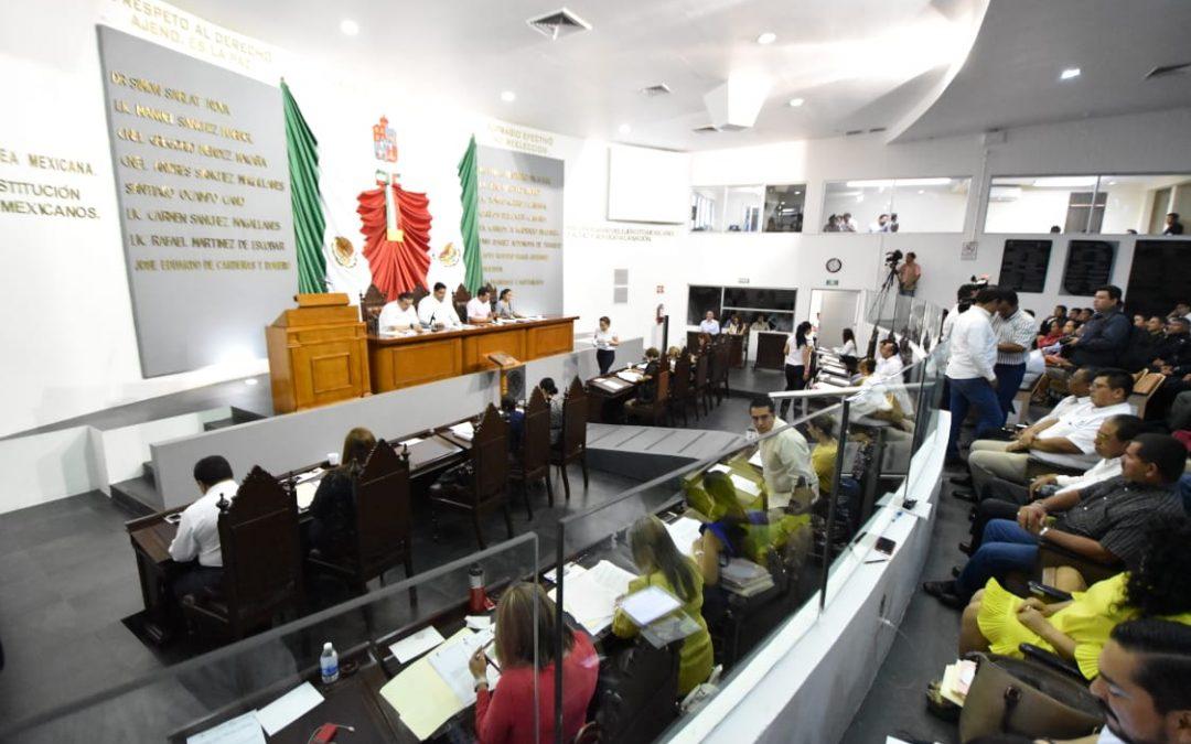 Continúa la LXIII Legislatura trabajando para fortalecer el andamiaje jurídico del estado