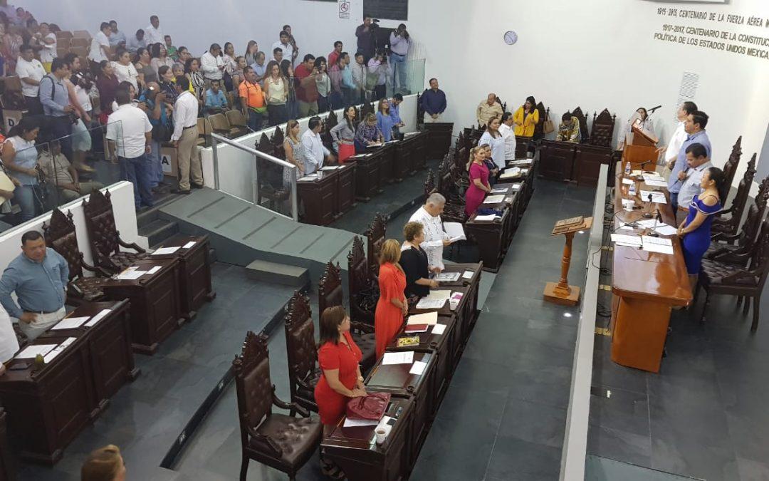 Da entrada Congreso a propuesta del Ejecutivo estatal que busca crear la Unidad de Inteligencia Patrimonial y Económica