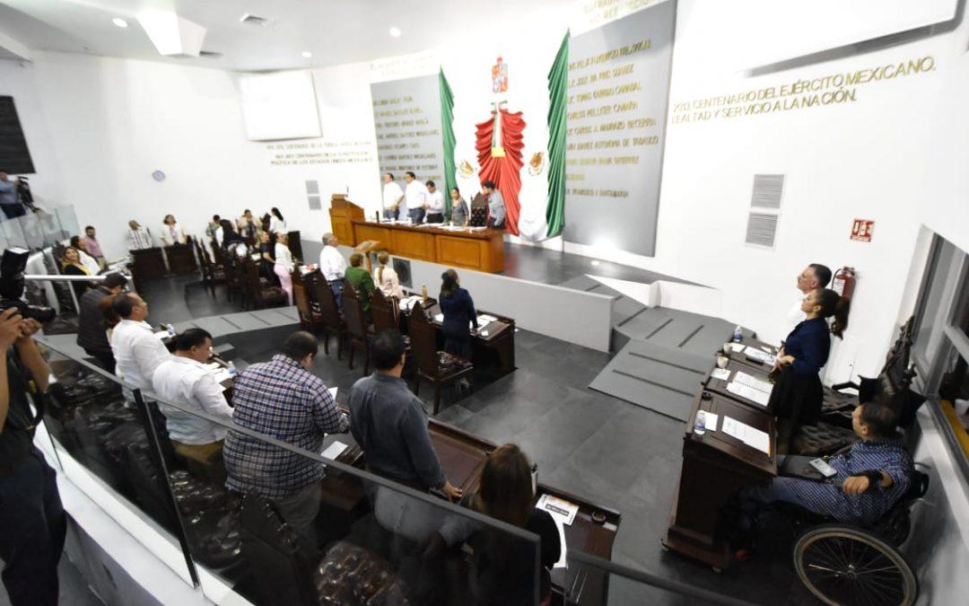 Enaltece LXIII Legislatura la Constitución Política local y la Batalla de Centla