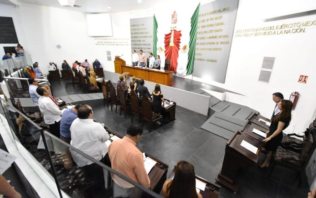 Avala Congreso local reorientar el Presupuesto de Egresos 2019