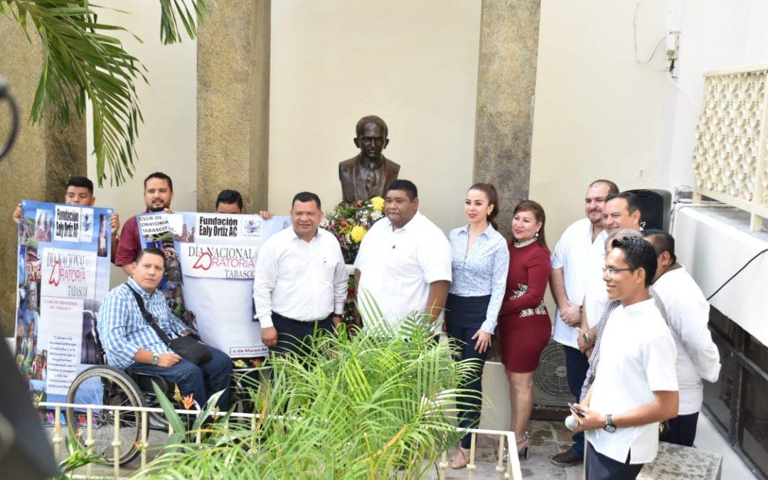 Rinde homenaje Congreso del Estado a Félix Fulgencio Palavicini
