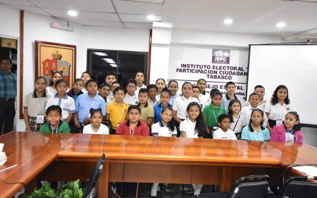 Todo listo para el 16° Congreso de las Niñas y Niños Legisladores de Tabasco