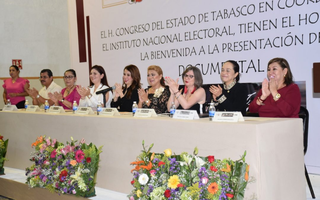 "Proyectan en Congreso del Estado el documental ""La Historia Invisible"""