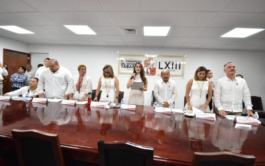 Se instala Comisión Permanente del Segundo Periodo de Receso de la LXIII Legislatura