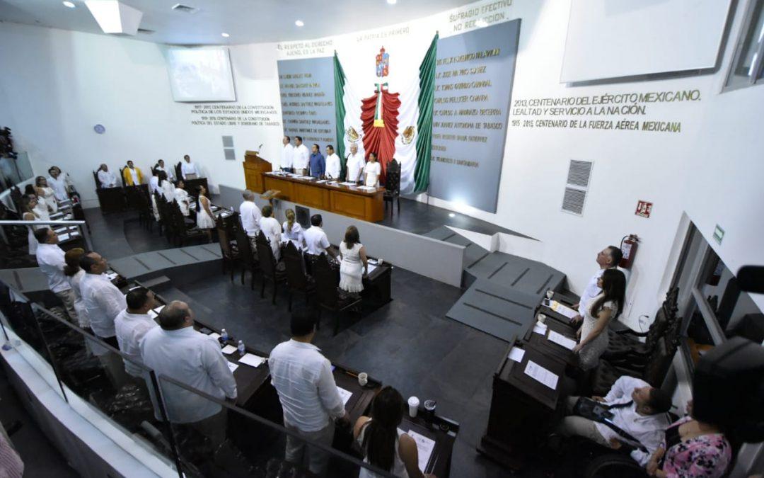 Clausuran Segundo Periodo Ordinario de Sesiones del Primer Año de Ejercicio Constitucional de la LXIII Legislatura