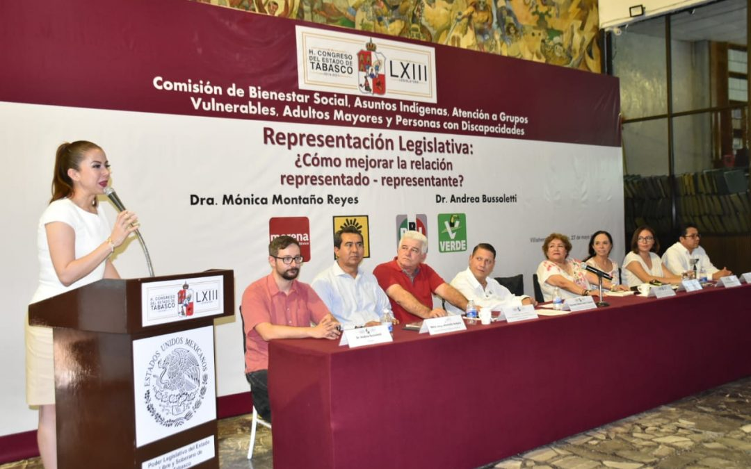 """Imparten Conferencia-Taller """"Representación Legislativa: ¿Cómo manejar la relación representado-representante"""""""