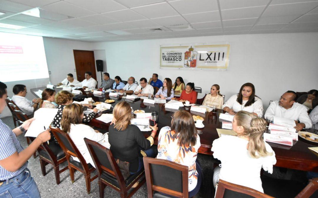 Conocen legisladores sobre acciones del Plan Estatal de Desarrollo 2019-2024