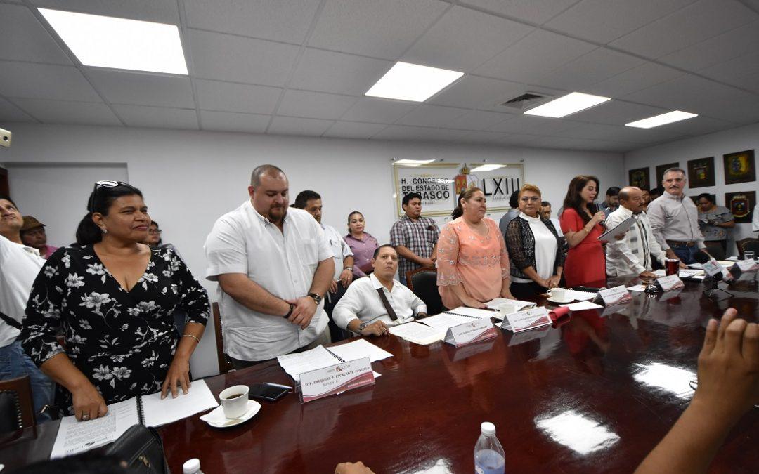 Dan a conocer declaratoria de ratificación del coordinador y vicecoordinadora de la fracción del PRD