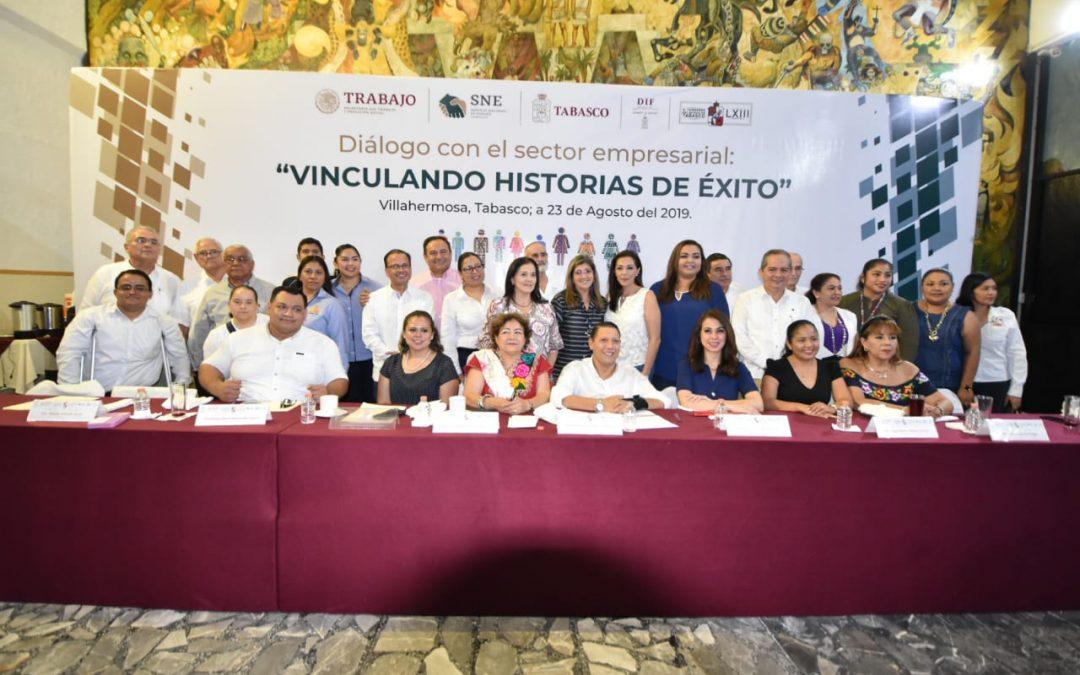 """Realiza Congreso del Estado  """"Diálogo con el sector empresarial, Vinculando historias de éxito"""""""