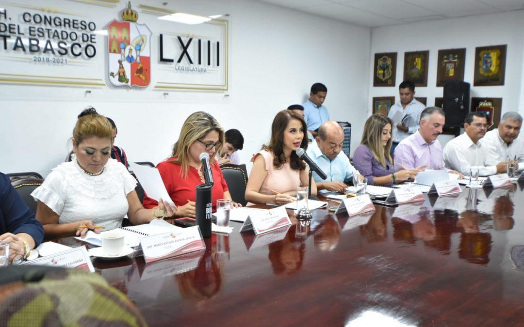 Comisión Permanente recibe propuesta para expedir Ley para el Desarrollo Económico Sostenible