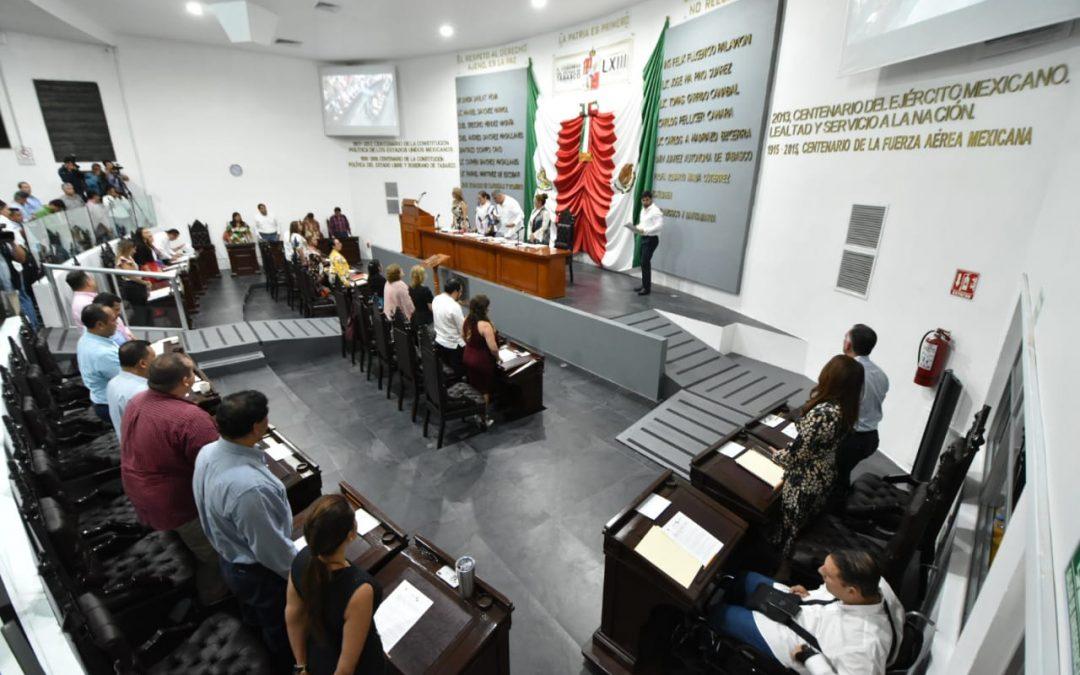 Avalan Agenda Legislativa para Primer Periodo Ordinario de Sesiones, del Segundo Año de Ejercicio Constitucional