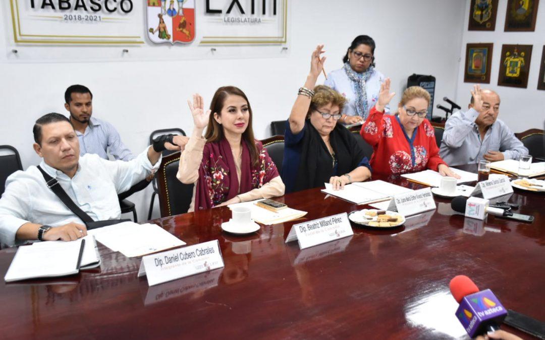 Solicita Comisión Inspectora de Hacienda Primera al OSFE auditar al DIF Tabasco por ejercicio fiscal 2018