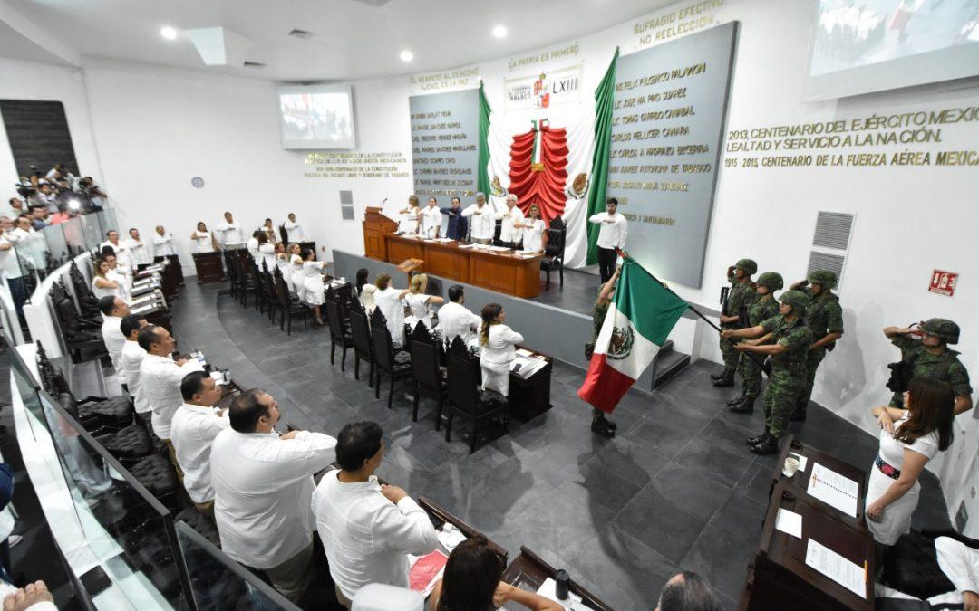 Inicia Primer Periodo Ordinario de Sesiones del Segundo Año de Ejercicio Constitucional