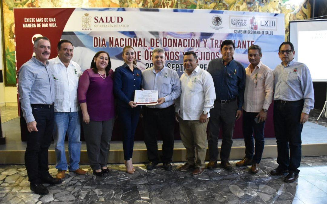 Conmemora Congreso el Día Nacional de Donación y Trasplante de Órganos y Tejidos