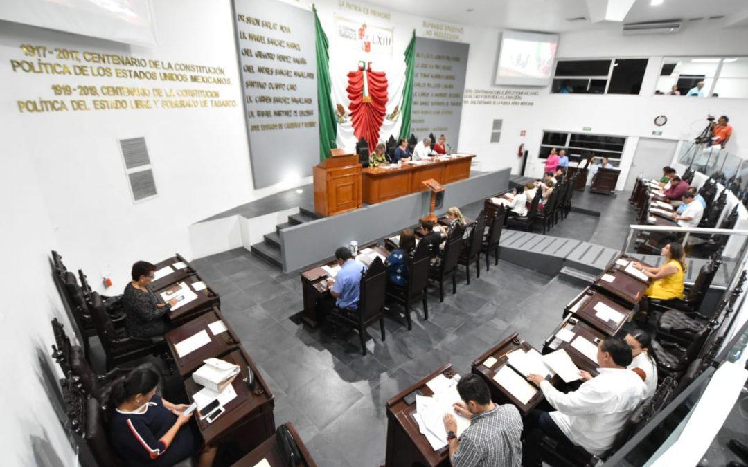 Integrantes de la LXIII Legislatura continúan trabajando a favor de la entidad