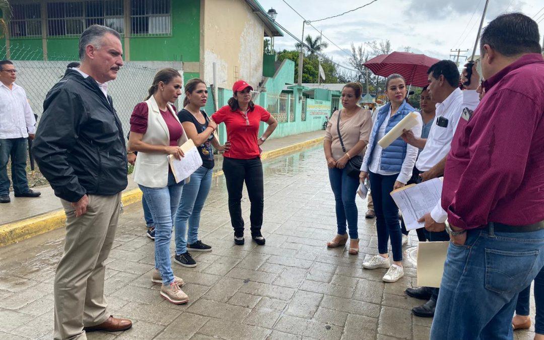 Concluye Inspectora Tercera supervisión física de obras de los municipios de Centro y Chontalpa