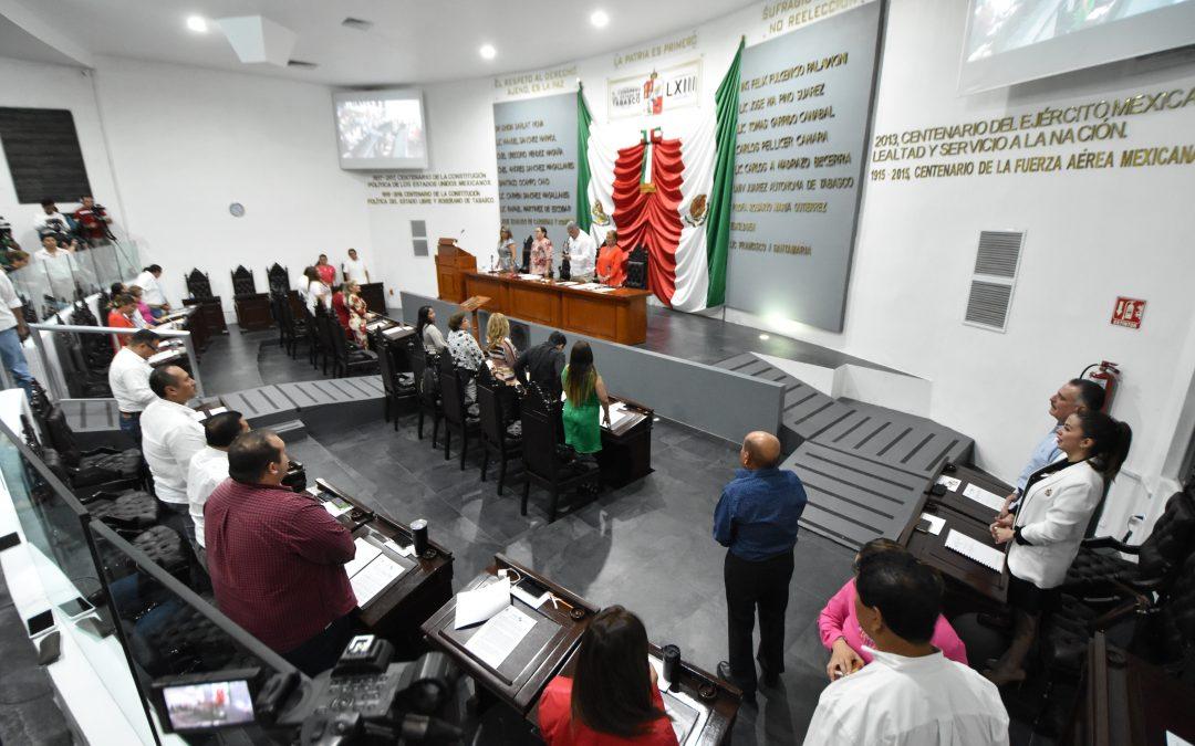 Legisladores proponen modificar marco jurídico para abonar al desarrollo de la entidad