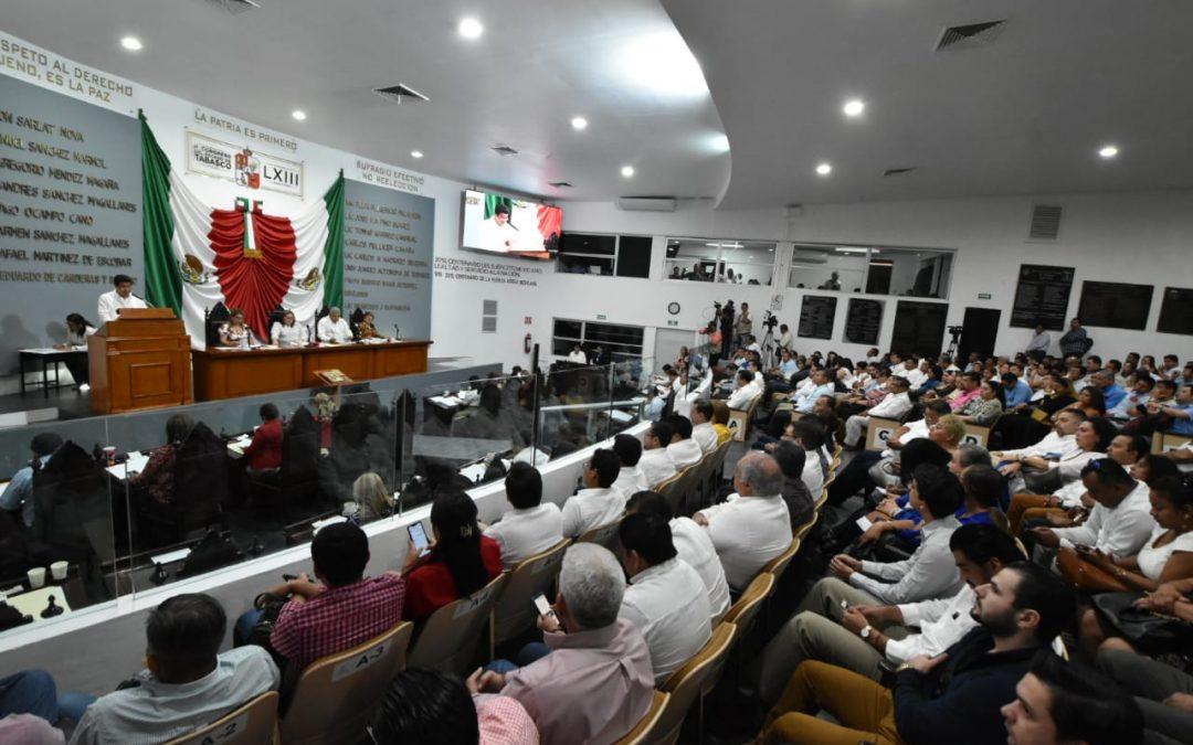 Informan a legisladores que se refuerzan la seguridad y protección ciudadana para devolver la paz y la tranquilidad