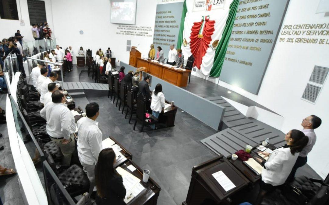 Califica LXIII Legislatura cuentas de los Tres Poderes,  órganos autónomos y 17 Ayuntamientos
