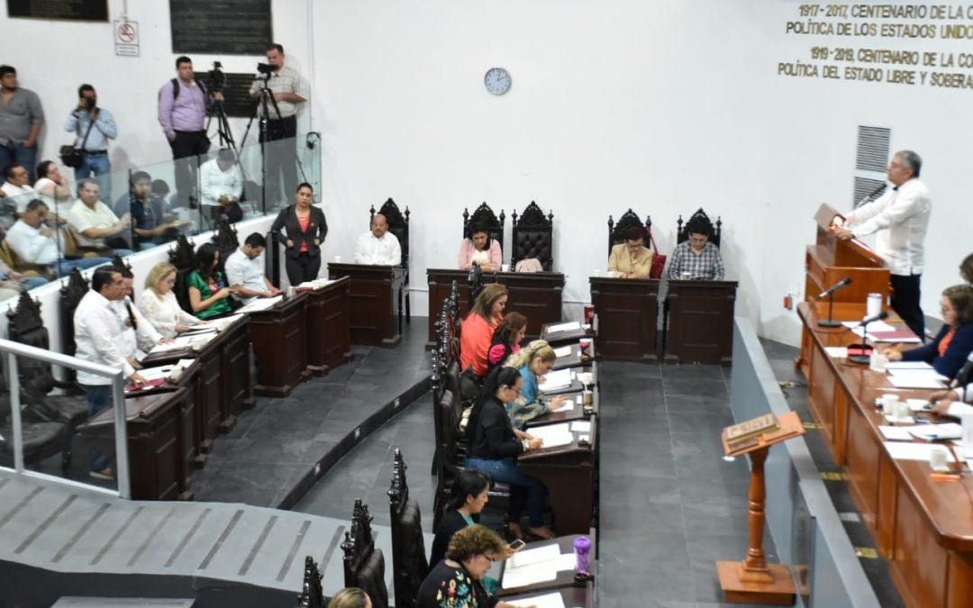 Explican a legisladores acciones para impulsar sistemas productivos más eficientes en la entidad