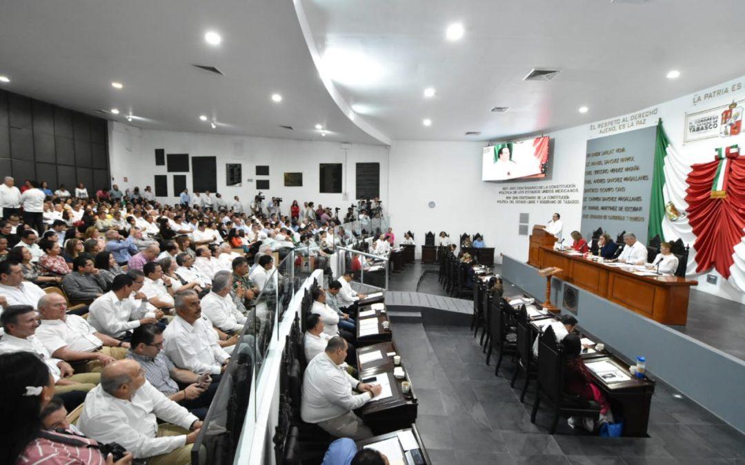 Destaca Secretario de Gobierno voluntad del Poder Legislativo para crear nuevo andamiaje constitucional