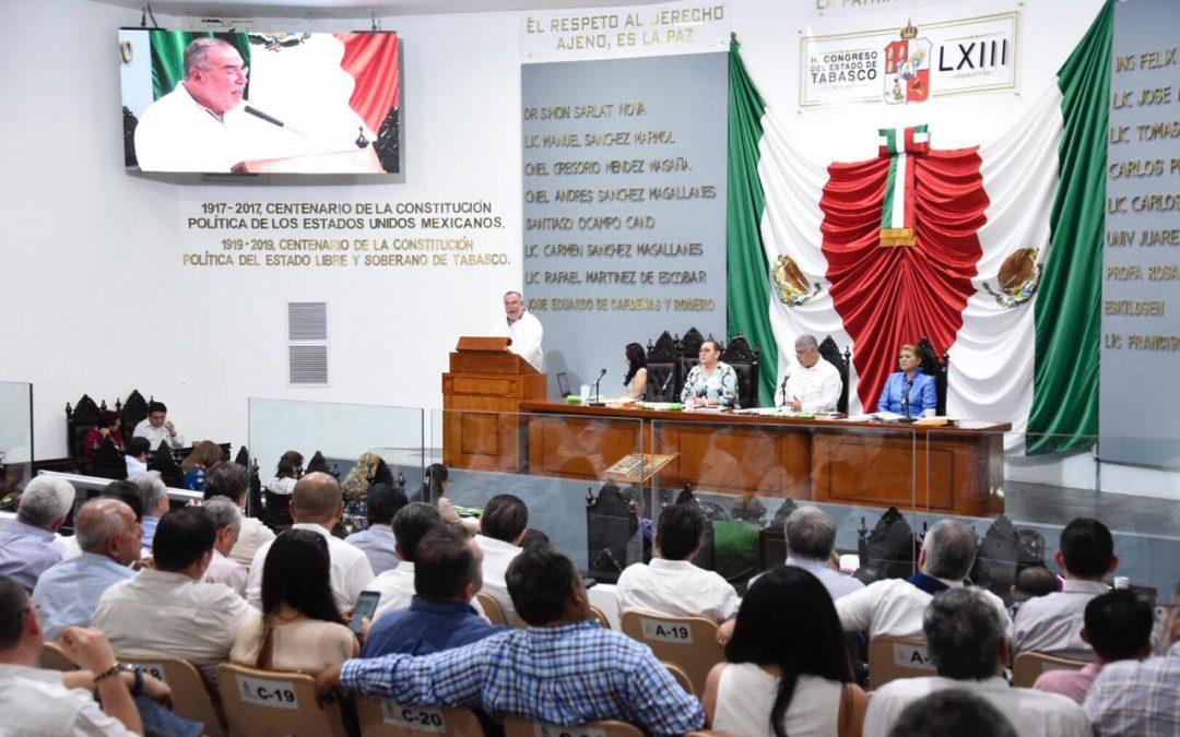 Explican a legisladores las acciones para la ejecución de obras de beneficio social